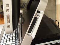 Min-Pocket Media Driveベイの画像