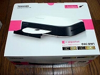 gigashot専用DVDライター